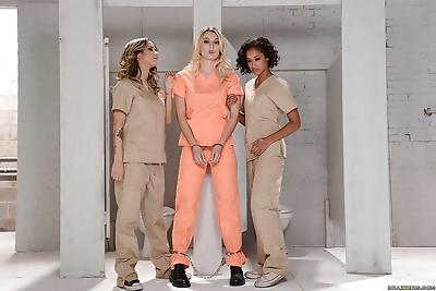 Three horny lesbians Nadia..