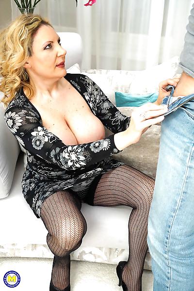 Naughty housewife valentina..