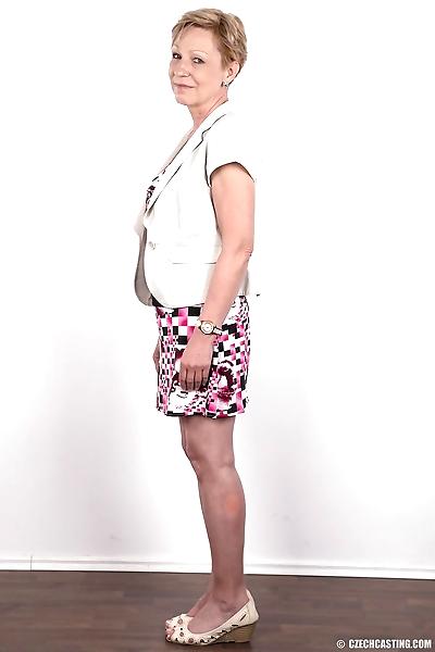 Older mature granny Milena..