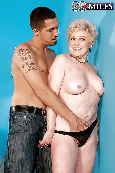 Short haired granny Jewel..