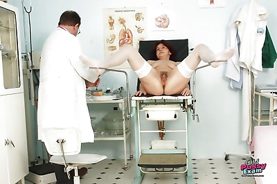 Gyno office visit with hairy..