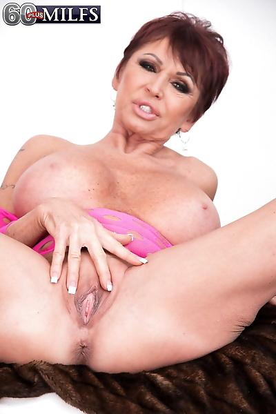 Older white woman Gina..