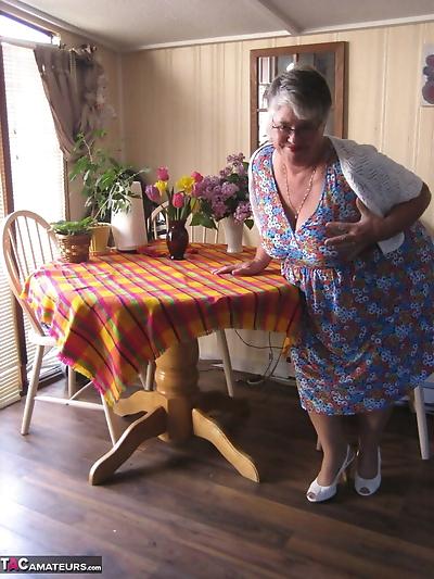Fat granny Girdle Goddess..