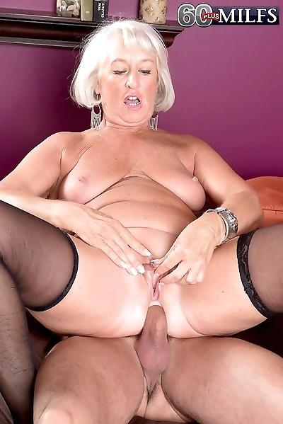 Horny busty grandma jeannie..