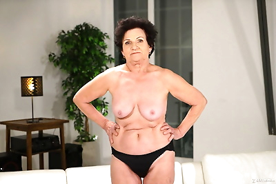 Naughty grandma Lisbeth..