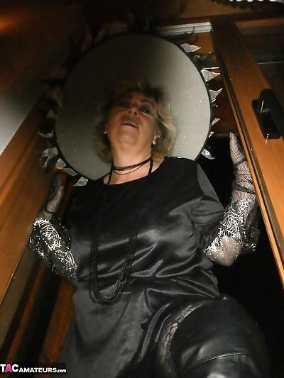 Slutty mature witch Caro..
