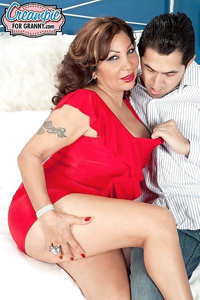 Latina Sandra Martines with..