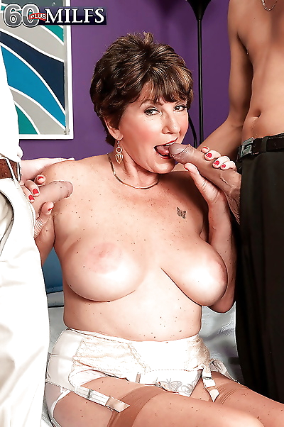 Big boobed grandma Bea..