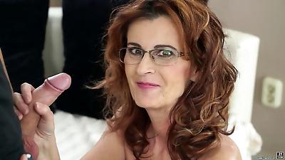 Glasses wearing grandma..