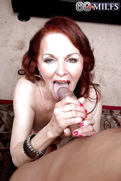 Redhead granny Katherine..