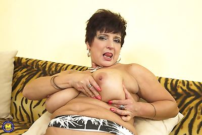 Plump housewife over 50..