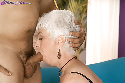 Busty granny Suzy gets..