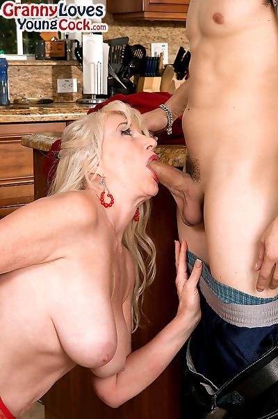 Big boobed granny Summeran..