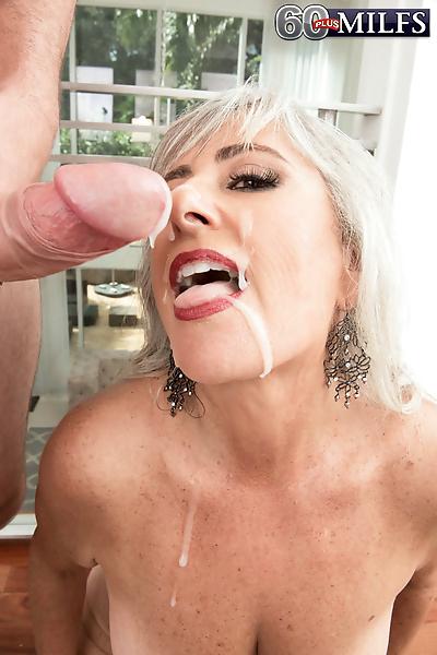 Granny with big tits Silva..