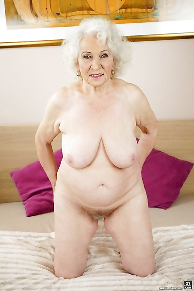 Granny norma gets her hairy..