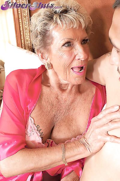 Grandmother sandra ann fucks..