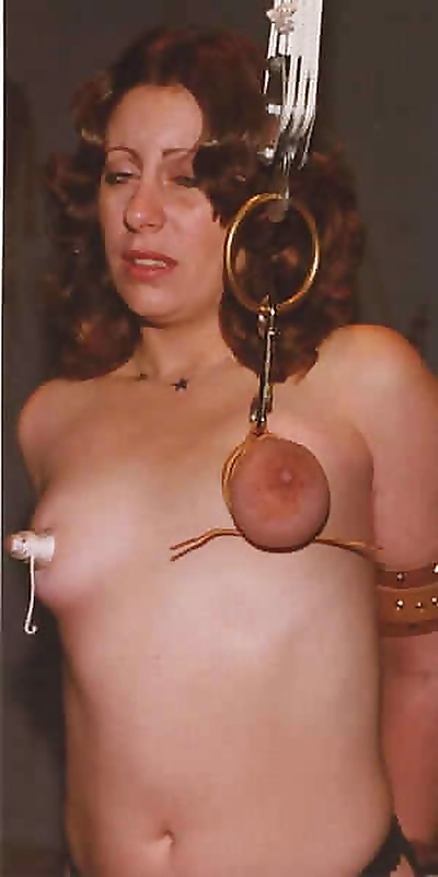 Vintage sex slave in bondage..