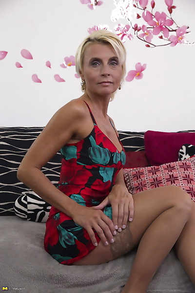 Blonde housewife fucking and..