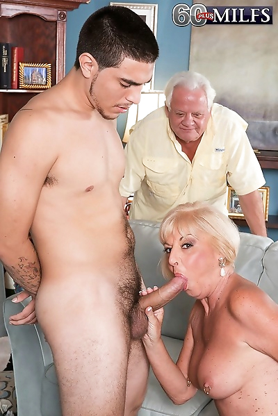 Granny wife cheating in..