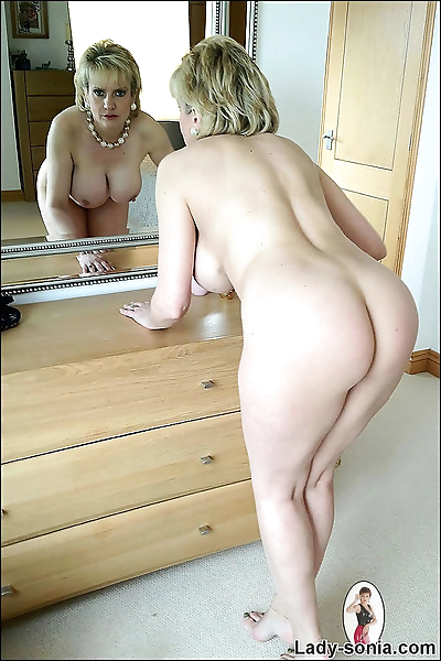 Perfect bodied mature blonde..