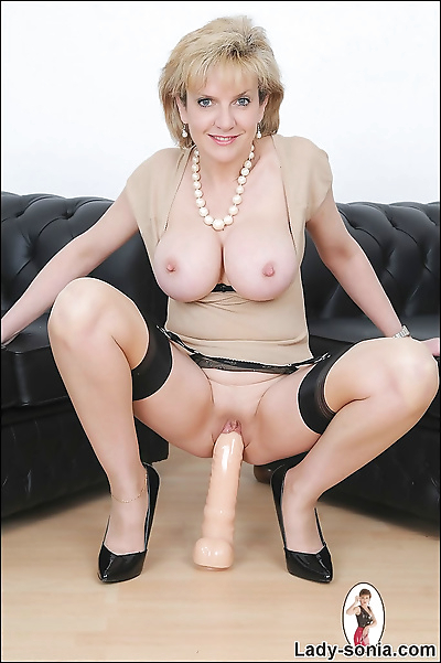 Big tits milf lady sonia is..