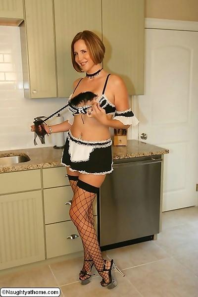 Naughty maid desirae spencer..
