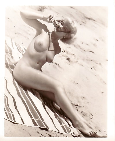 Vintage beach nudist - part..