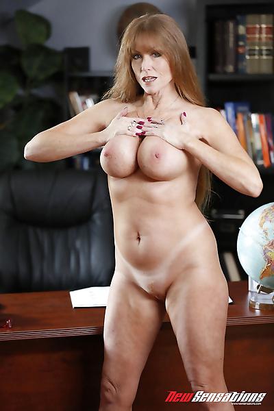 Older woman Darla Crane..
