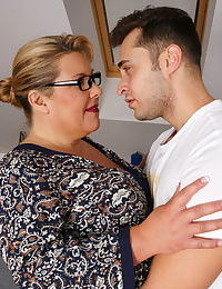 Big breasted german housewife playing with her toy boy - part 2740