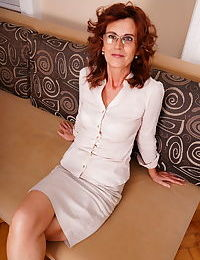 Hairy mature lady having fun with her toy boy - part 2683