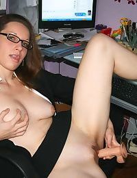 Milfs and wives from nextdoor having fun in homemade - part 4928