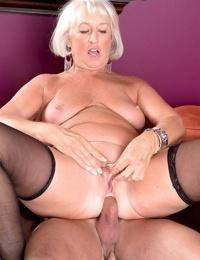 Horny busty grandma jeannie lou craving stiff cock - part 801