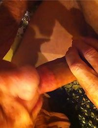Really old granny shows off her cock sucking skills from a POV perspective